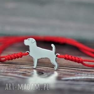 ręcznie robione jack russell terrier szorstkowłosy - bransoletka