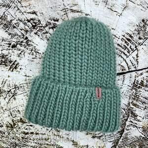 handmade czapki big hat merino