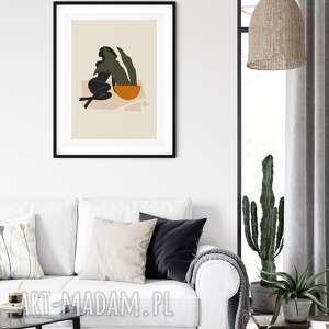 plakat skandynawski abstrakcja, botaniczny, abstrakcja, plakat