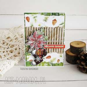 kartka świąteczna 507 vairatka handmade
