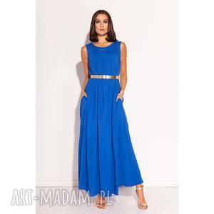 Sukienka Fara, kobaltowa