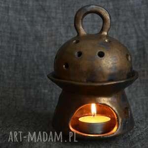 kominek z przykrywką na olejki aromatyczne, olejek, aromtat, prezent, klimat