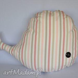 wieloryb zabawka piękna ozdoba prezent handmade - wieloryb, zabawka, przytulanka
