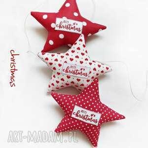 pracowniaktorejniema christmas - gwiazdeczki do zwieszenia, święta, gwiazdka, choinka