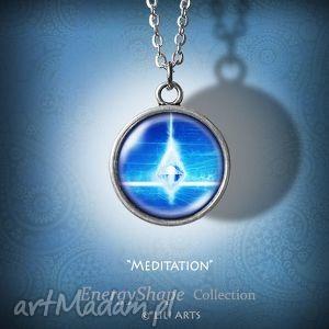 medalion, talizman - medytacja prosty, naszyjnik, ezoteryczny
