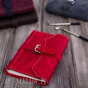 Prezent Czerwone ETUI na dziennik, tablet ,e-book oraz okładka notes skóra