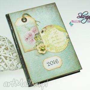 kalendarz książkowy - spełniaj marzenia, kalendarz, książkowy, 2019, kwiaty