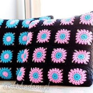 Zestaw 2 poduszek dekoracyjnych , poduszka, poduszki, zesstaw, poszewka, szydełko,
