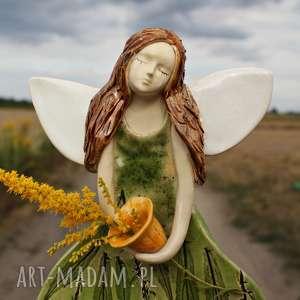 hand-made dla dziecka ceramiczny anioł stróż