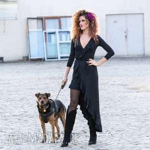 pod choinkę prezent, elena 2 black night, elegancka, wygodna, falbana
