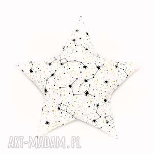 poduszka gwiazdka - gwiazdozbiory, poduszeczka, pokój
