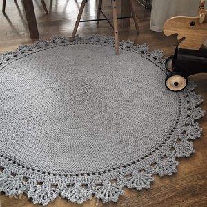 dziergany ręcznie dywan bawełniany, dywan, dywanik, dywanbawełniany, dywansznurkowy