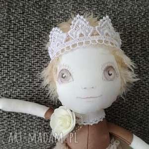 hand-made lalki lalka szyta - mała królewna