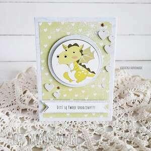 handmade scrapbooking kartki kartka urodzinowa dla dziecka, 561