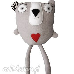 przytulanka misia mysia, przytulanka, maskotka, zabawka, miś, polar, serce dla