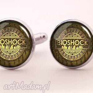 bioshock - spinki do mankietów - mężczyzna, gracza, facet