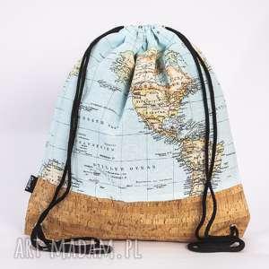 korkowa mapa, torba, plecak, worek, korek