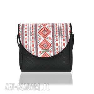 ręczne wykonanie na ramię torebka z wymiennymi klapkami puro classic 3039 belarusian