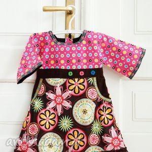 hand made sukieneczka a la kimono rozm. 104 -110