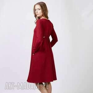 buckle sukienka dresowa, sukienka, dzianina, bawełna ubrania