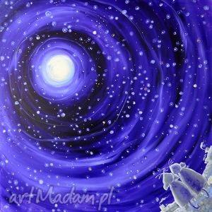 szczęście gwiazd, sztuka, obraz, szczęście, miebo, gwiazdy, koty