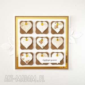 scrapbooking kartki kartka z życzeniami - serca 2, kartka, życzenia