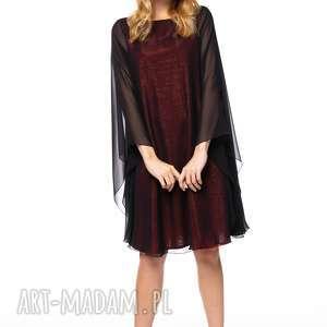 pod choinkę prezent, sukienka natela, wieczorowa, szyfonowa, luźna, elegancka