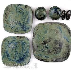 ceramika ceramiczny zestaw do sushi, miska, prezent, talerz, patera
