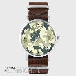 zegarek - moro brązowy, nato, zegarek, bransoletka, moro, militarny