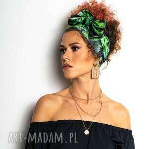 opaska do włosów / apaszka - garden party, apaszka, opaska, na głowę