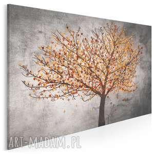 obraz na płótnie - drzewo liście 120x80 cm (30603)