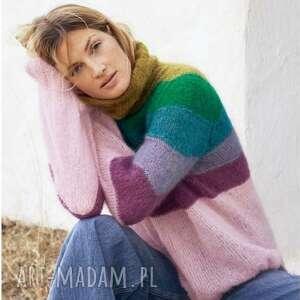 dziane sweter kokkola, sweter, wełniany, golf, ciepły, miękki, prezent