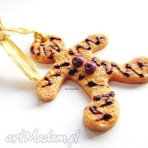 handmade pomysł na prezent ozdoba choinkowa ciasteczko