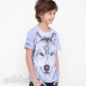 T-shirt dla dzieci z wilkiem, mrgugu, koszulka, tshirt, dziecko, kids