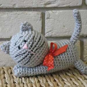 maskotki kotek mruczuś, maskotka, przytulanka, zabawka, prezent, dekoracja