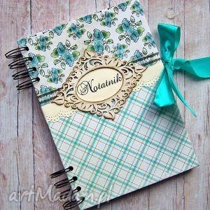 romantyczny notatnik, notes