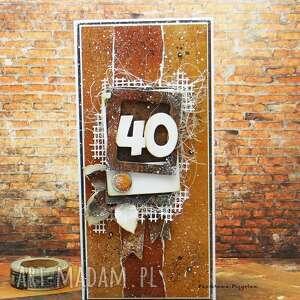 Męska kartka w pudełku vol 3 scrapbooking kartki papierowa