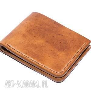 Bifold, portfel, męski, skórzany, skóra, portfelik, minimalistyczny