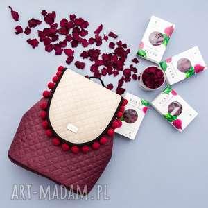 ręcznie zrobione plecak damski puro 713