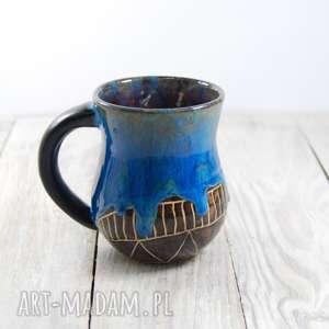 kubek ceramiczny zaciekowy sgraffito, prezent, kawa, herbata, walentynki