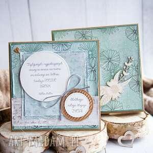 kartki przepiękna kartka z dobrym słowem, pudełko urodziny imieniny dla niej