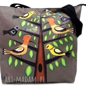 na ramię torba z motywem folk, xxl, etno