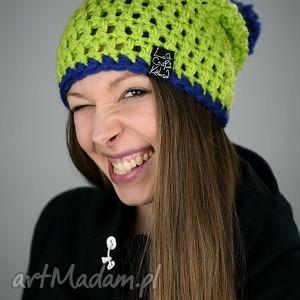 czapki hellove 52, czapka, czapa, zima, kolorowa, pompon, cieńka
