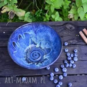 misa, miska do serwowania - ocean - granatowa efektowa 1000 ml, miska, micha