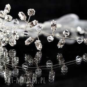 w blasku kryształów, ozdoba, ślub, kryształ, swarovski, preciosa, wire wrapping