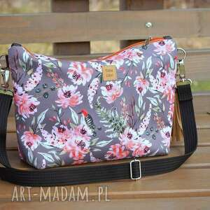 torebka kwiaty - torebka w kwiaty, na lato listonoszka, kolorowa catoo