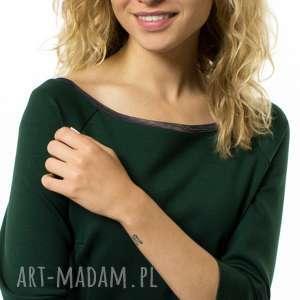 sukienka ołówkowa ragazza verde, ołówkowa, prosta, wykończona, styl, harmonia