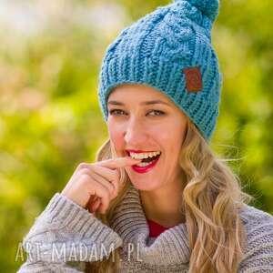 joy chmurka, czapki, zimowe, wełniane, ręcznie zrobione, zima, wełna, pod
