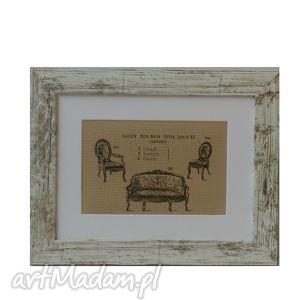 obrazek w stylu vintage francuskie meble, vintage, obrazek, shabby, chic, francuski