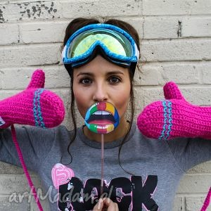 hand-made rękawiczki mode